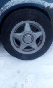 4 mags plus 4 pneus d'été