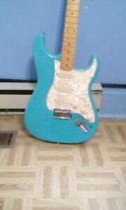 BABY BLUE STAGG ELECTRIC GUITAR