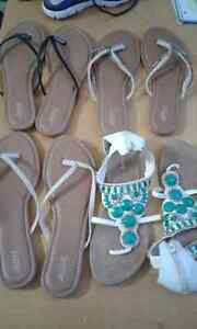 Size 9-10 new sandals