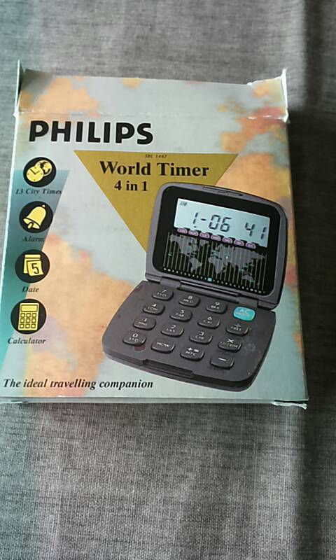 Philips World Timer SBC 1447 in Medelby