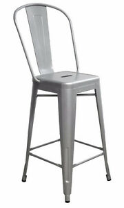 INDUSTRIAL RESTAURANT TOLIX STYLE METAL BAR STOOL DINING CHAIR