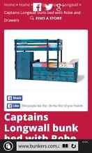 captains longwall pine bunks Calista Kwinana Area Preview