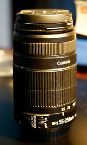 Canon Zoom Lens 55-250mm