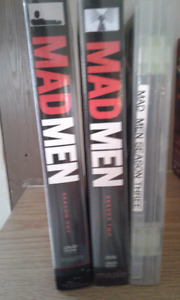 Two and a half men and mad men