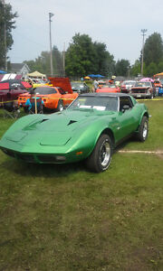 corvette stingray 1973