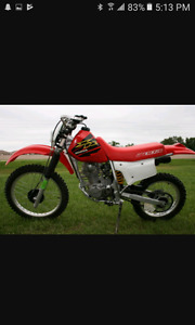 LOOKING FOR A DIRTBIKE!! 250R, XR200, OR A TTR230