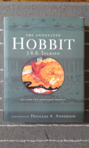 New THE HOBBIT : ANNOTATED EDITION Hardcover by J.R.R. Tolkien