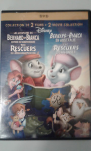 Dvd Disney collection 2 films Bernard et Bianca