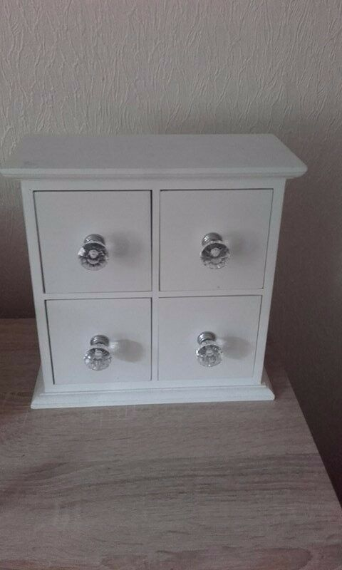 jewellery box for sale.4drawers.