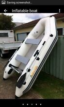 3m inflatable island boat and 3.3hp Mercury outboard Cabramatta West Fairfield Area Preview