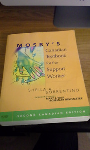 Mosby's Canadian Textbook for the Support Worker second edition