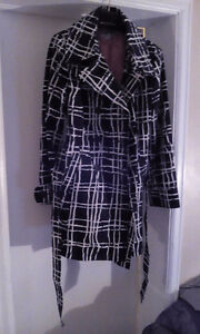 New Ladies Merona trench coat spring/fall/summer L possibly XL