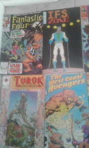 Old comic books.