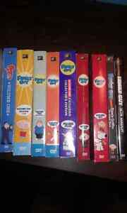 Family Guy & American Dad DVDs
