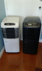 Portable Air conditioners     8000 BTUH / 1250 Watts Heater