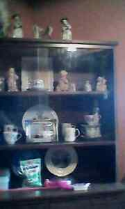China cabinet , everything included. 200 obo.