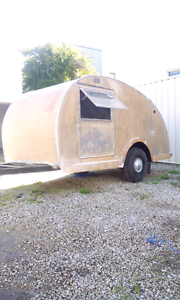 Vintage 1940s teardrop caravanett original Plympton West Torrens Area Preview