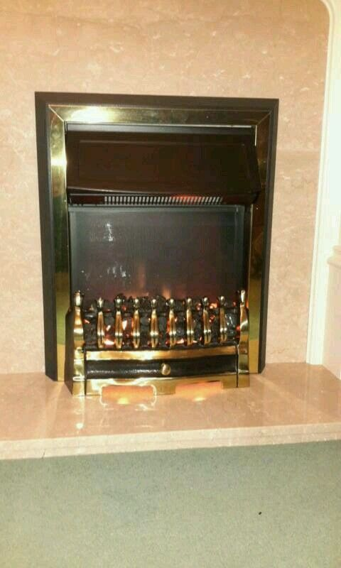 Dimplex Living Flame Electric Fire In Exeter Devon Gumtree