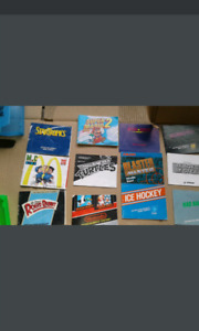 23 NES Game manuals