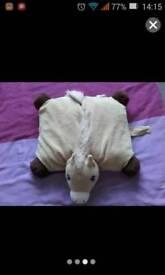 Horse cushion/pillow
