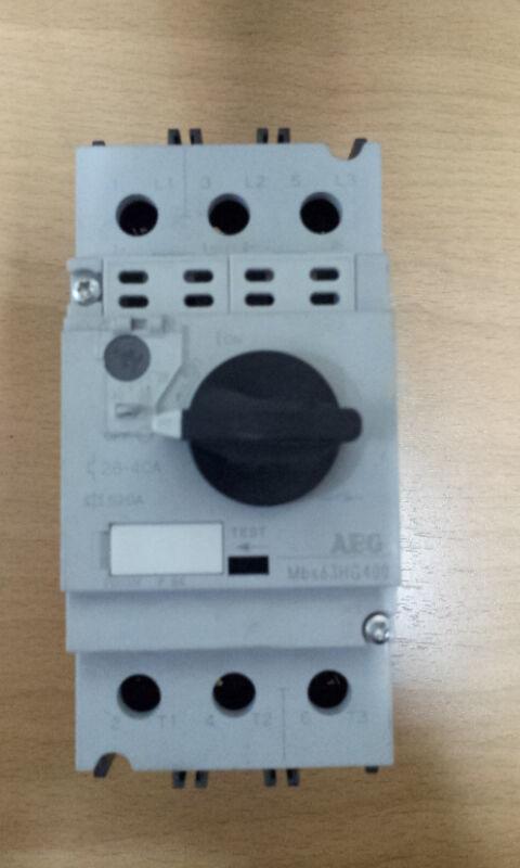 AEG Mbs63 Motor Starter Circuit Breaker 28-40A Mbs63hg400