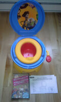"""Toy Story"" potty + Huggies pullups pack"