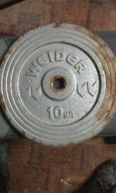 40kg of Weider Discs