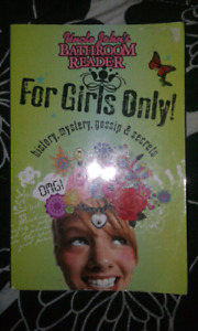 Batroom reader for girls only Book
