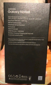 64gb Like New Used Samsung Galaxy Note 8 Unlocked Open To All Networks