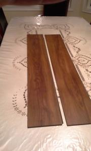 DURAtec Wood Composite Luxury Chocolate Vinyl Flooring