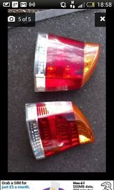 54 plate vauxhall vectra rear lights