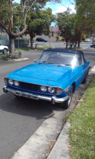 TRIUMPH STAG CONVERTIBLE 1974 Bexley North Rockdale Area Preview