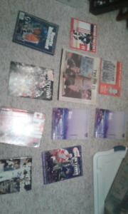 Various Sports Magazines and Programs