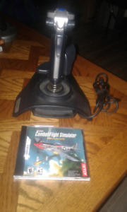 Programable Joystick with Flight Sim