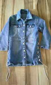 girl- jeans coat 3-4x LIKE NEW Kingston Kingston Area image 1