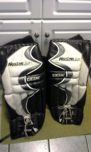 Goalie JR. Pads, Blocker, Glove, Armor, Skates-REDUCED!