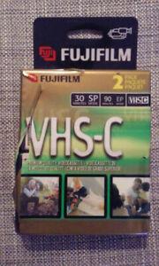 Cassettes VHS-C pour caméra vidéo