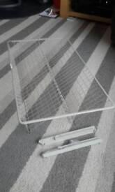 Ikea pax double wardrobe shoe basket