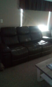Chesterfield and chair recliner