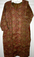 Beaded & Embroidered Salwar Kameez (Tunic/pants) with Scarf