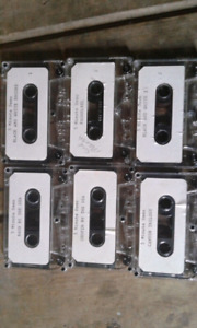 6 demo cassettes