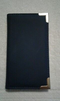Small Blue Note Pad Holder-new