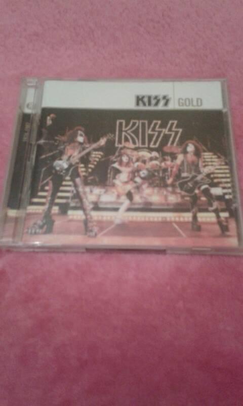 Kiss Gold 2x CD Album 1974-1982