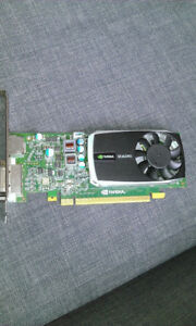 GRAPHIC GRAPHIQUE NVIDIA Quadro 600 CARD Desktop