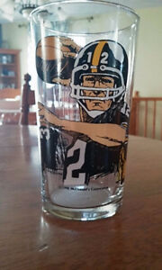 FOOTBALL Steelers Verre de collection  1990  Hall of Fame