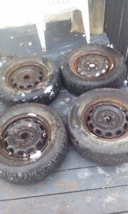 Like new winter tires 185/70R13