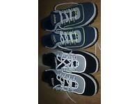 Kangaroo shoes, two pairs, size 6
