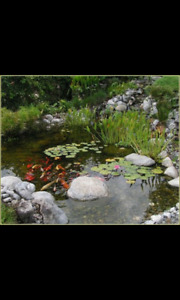WINTERIZE YOUR POND OR WATER FEATURE