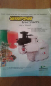 Juicer in perfect condition!