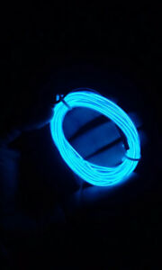 Flexible Blue neon LED cable 3 meters
